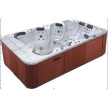 8 человек Акриловая наружная ванна SPA (JL998)