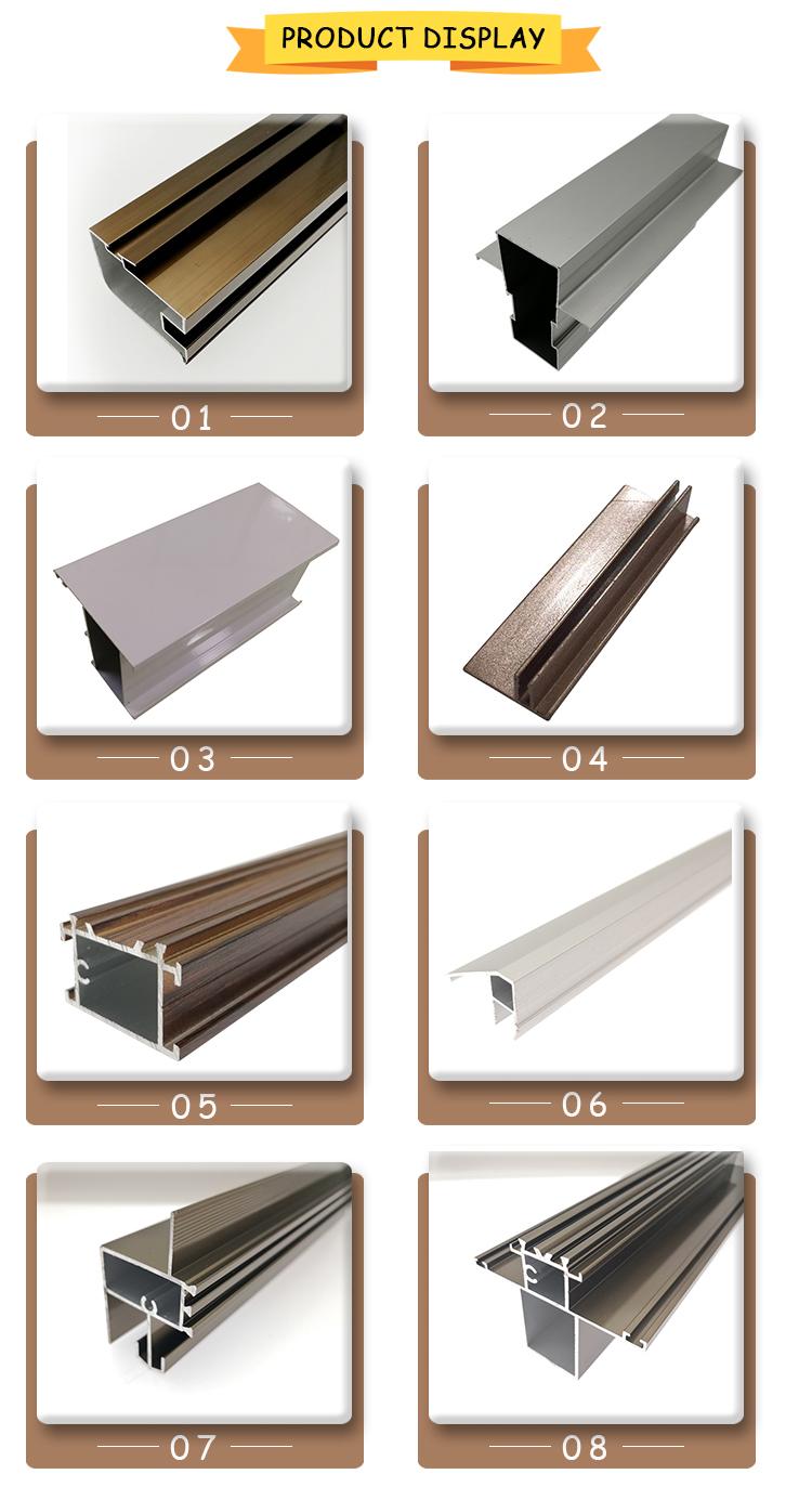 Aluminium Product Display
