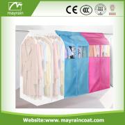 Cubierta plegable personalizada de la protección del traje de la bolsa de la ropa