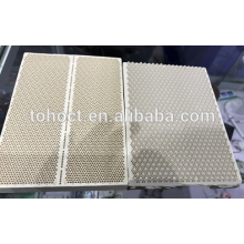 Toho hot sale Infrared ceramic honeycomb substrate