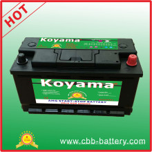 88ah European Car Start Stop Car Battery Bci49-Mf