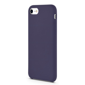 Cute soft touch liquid silicone iphone 7 case