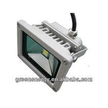 Китай поставщик 10Вт cob светодиодный свет потока IP65 напольный прожектор водить с архивом ies,утверждение TUV и GS