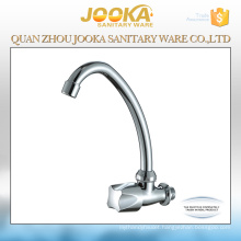 Wall mounted plastic sink tap for kitchen