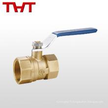 """pn16 1/2 """"robinet à tournant sphérique en laiton fileté femelle pour gaz"""