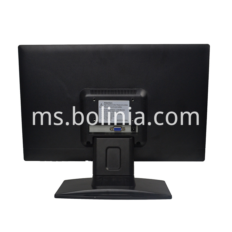 B156 Lcd Monitor Back View