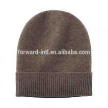 customized made fashion style cashmere knitted women winter hat