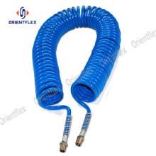 Spiral weather resistant gardening PA coil hose set