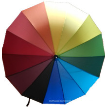 Rainbow Straight Umbrella (JYSU-02)