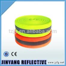 cinta fluorescente de seguridad
