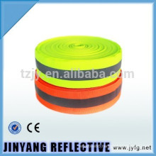High visibility reflective ribbon