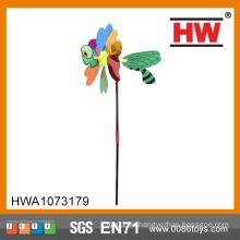 Sequin Dreidimensionale Tier Insekt Neuheit Windmühle Spielzeug