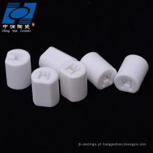 isolador do sensor cerâmico de alumina branca