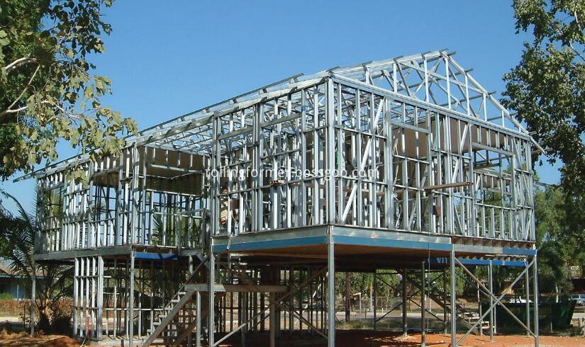 steel wall frame 2