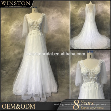 Professional China factory sweetheart tulle lace mermaid wedding dress