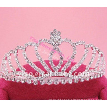 small elegant pageant crown