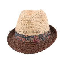 Мода мужчин соломенной шляпе, летняя спортивная бейсболка
