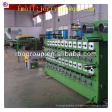 40H(40 heads/lines) annealing and tinning Machine(copper wire anneal)