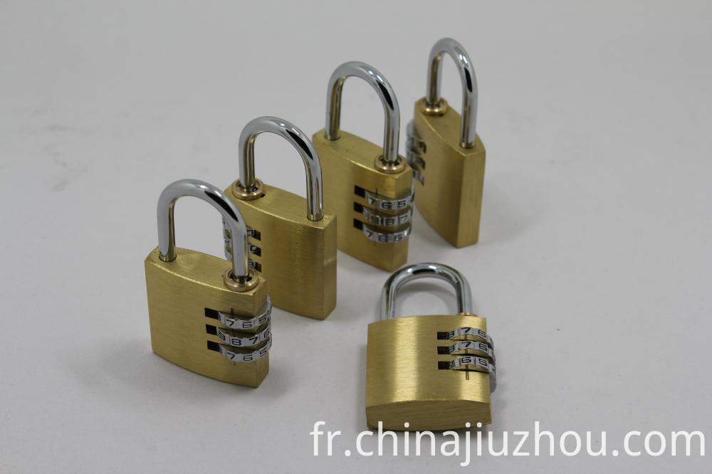 Solid Brass Combination Padlock
