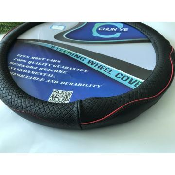 new arrival Genuine leather steering wheel cover