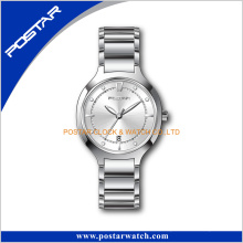 Swiss Ronda Movt 3 Hand with Date Stainless Steel Wrist Watch