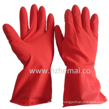 Rubber Dish Washing Gloves Kitchen Latex Household Gloves