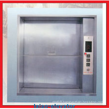 Cheap Manual Open Sliding Door Dumbwaiter Elevator Goods Lift