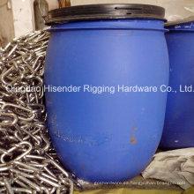Acero inoxidable 304 o 316 Material del eslabón de la cadena
