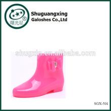 Wholesale Trendy Women Rain Boots Walmart Low Cut Rain Boots SGX-501