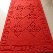 Противоскользящий резной дверной коврик с ПВХ Назад для лифтового коридора