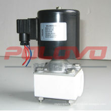 POF plastic teflon direct acting acid solenoid valve