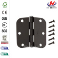 Black Heavy Duty Decorative Tee Hinge