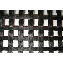 Geomalla de poliéster recubierta de PVC, Geomalla de poliéster de punto de urdimbre