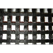 PVC Coated Polyester Geogrid, Warp Knitting Polyester Geogrid