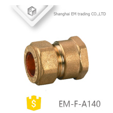 Encaixe de tubulação EM-F-A140 fêmea rosca conector rápido conector de união de bronze