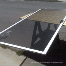 18x20 malla de aluminio pantalla / ventana de pantalla / puerta de malla ---- 30 años de fábrica
