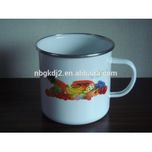 china enamel milk mug tea cup