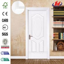 JHK-003 Classical Design 8mm Profondeur Rainove Rose White Primer Porte en bois