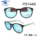 2017 New Hot Sale PC Round Style Sunglasses (PS1448)