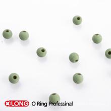 Bola de goma hueca verde claro hecho en China