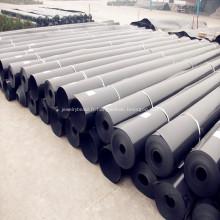 Géomembrane de HDPE de revêtement de projet d'enfouissement de vente chaude de 1,5mm
