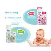 60ml-240ml Boroslicate Neutro Botella de alimentación de vidrio del bebé