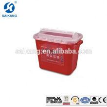 SKQ025 Шарпс контейнер Стекируемые небольшие хирургические Поставкы коробки шприц иглы