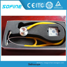 DT-410A Yellow Color Of Stainless Steel Stethoscope