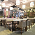 Modern 4 People Wooden Restaurant Seating Furniture (SP-CS105)
