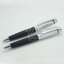 Prenda perfeita de caneta de metal Caneta de escrita extravagante