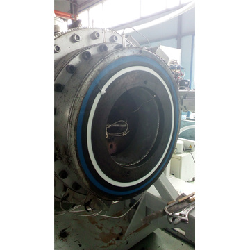 Multi-layer PE/PP pipe complete production line