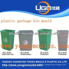 Lixo de luxo pode moldar e 2013 plásticos Molde de injeção de lixeira em taizhou, Zhejiang