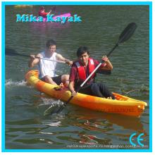 Двойная рыбалка Каяк Paddle лодки Пластиковые каноэ оптом