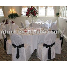 Visa chair cover,100% polyester chair cover,hotel/banquet chair cover